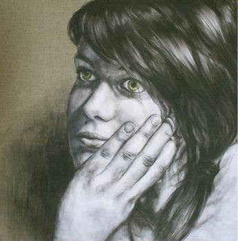 ELENA - Acrylic - 50 x 50 cm