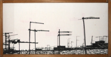 CRUCIFIXION OFF - Light box - 70 x 30